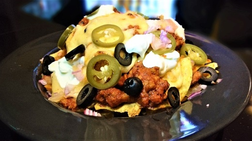 country barn's loaded tortilla chips